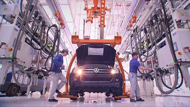 Неожиданное сокращение германского экспорта