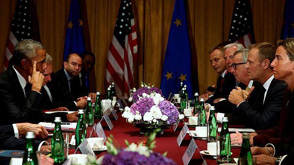 """Obama: """"Londra e Bruxelles troveranno un'intesa per nuove relazioni"""""""