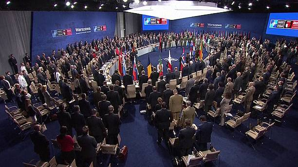 NATO summit opens in Warsaw aiming to stand firm against Russia