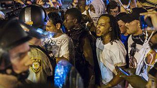 Dallas après des mois de tensions entre la police et les Noirs