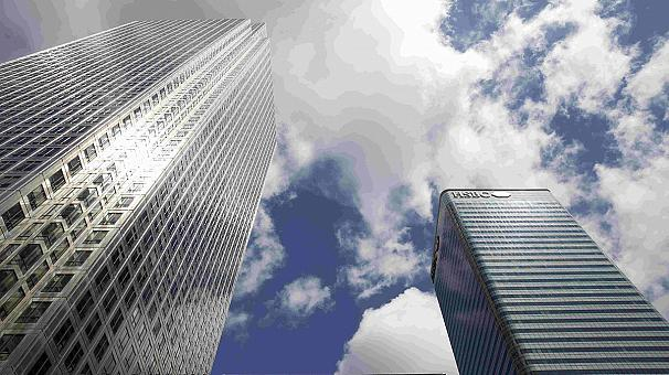 Спад на британском рынке недвижимости