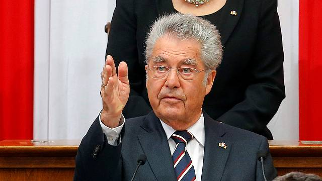 Avusturya Cumhurbaşkanı Heinz Fischer'in görev süresi sona erdi