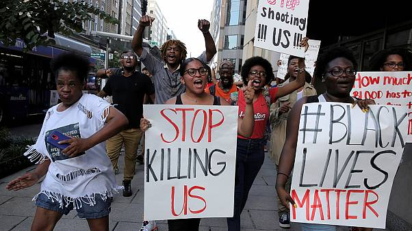 Protests continue across America against fatal police shootings