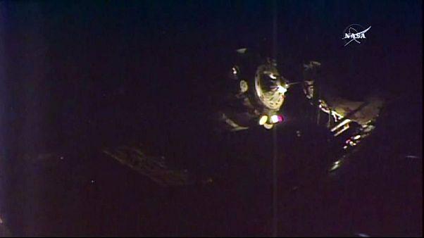 Soyuz MS-01, Stazione Spaziale Internazionale raggiunta