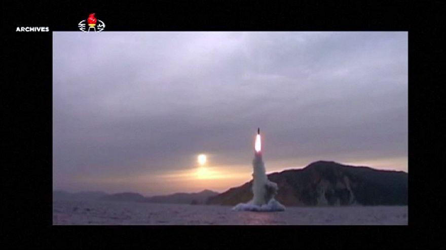 Coreia do Norte lança míssil a partir de submarino