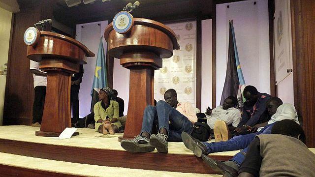 Стрельба у резиденции президента Южного Судана в Джубе