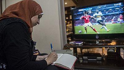Une femme première commentatrice de matchs en Egypte
