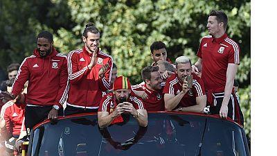 Euro 2016 : retour des héros gallois