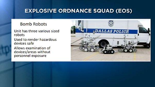 ABD, Dallas saldırganının bomba imha robotuyla öldürülmesini tartışıyor