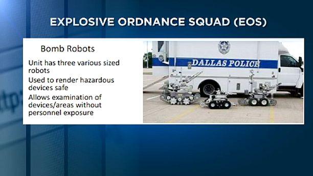 Dallas police defend use of robot to kill gunman