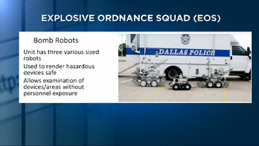 Dallas police defend use of robot to kill gunman