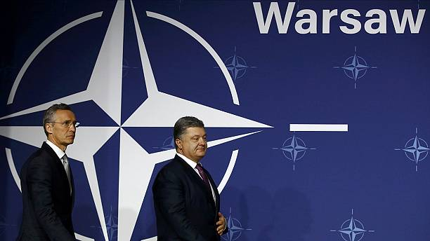 Pledges of continued support for Ukraine at NATO summit