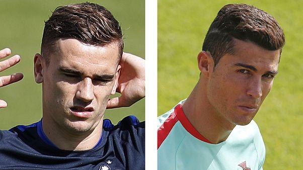 Euro 2016: Portugal con Ronaldo y Francia con Griezmann en busca de la corona de campeón de Europa