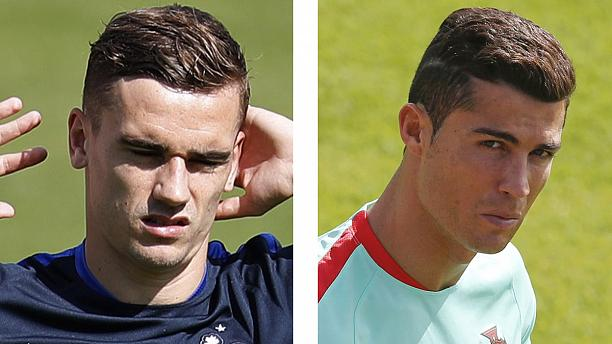 The final countdown as hosts France prepare to meet Portugal in the Euro climax