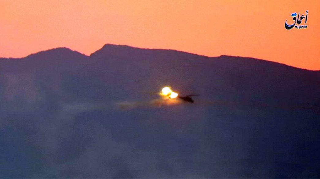 Işid helikopter düşürdü: 2 Rus pilot öldü