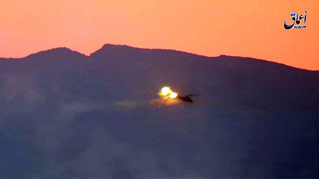 مقتل طيارين روسيين بسقوط مروحية قرب تدمر