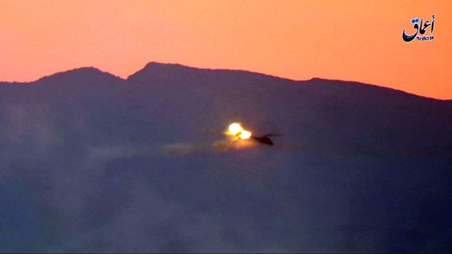 Lelőtt egy orosz helikoptert az Iszlám Állam