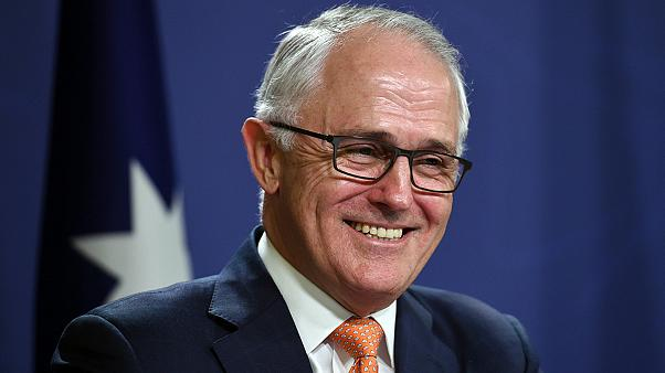 Avustralya'da Başbakan MalcolmTurnbullzaferini ilan etti
