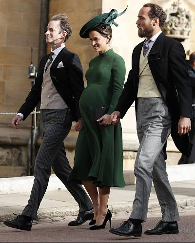 Middleton became a new mom just days after attending Princess Eugenie of York\'s wedding.