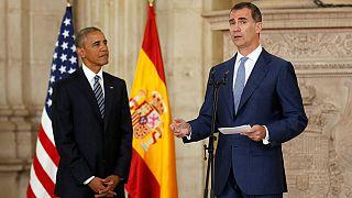 ABD Başkanı Obama İspanya Kralı ile buluştu
