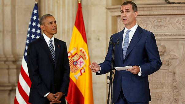 Obama cuts short visit to Spain
