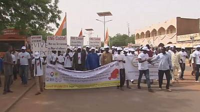 Thousands protest against Boko Haram in Niger