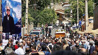 عباس کیارستمی تشییع و به خاک سپرده شد
