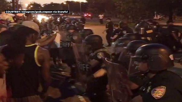 الولايات المتحدة الأمريكية: مظاهرات واعتقالات