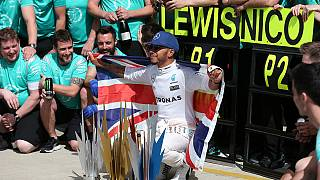 Lewis Hamilton wins his third successive British Grand Prix at Silverstone