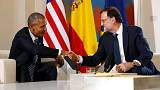 Barack Obama meets Spanish PM