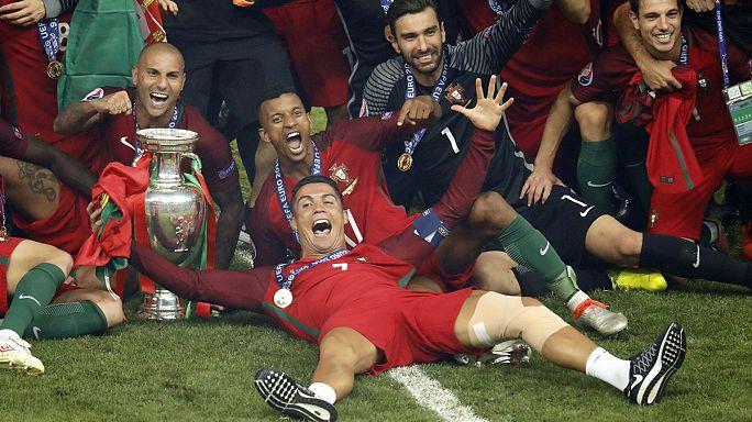 البرتغال تحرز أول لقب أوروبي في تاريخها على حساب فرنسا