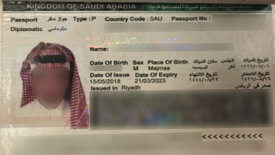 Image: Saudi Passport