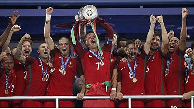 Le Portugal, champion d'Europe après un but d'Eder dans les prolongations