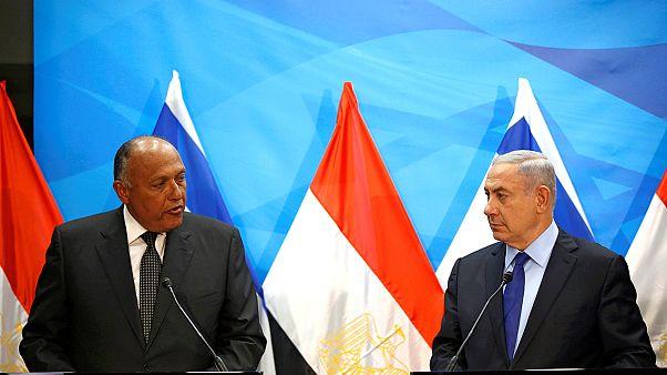 Chefe da diplomacia egípcia visita Israel