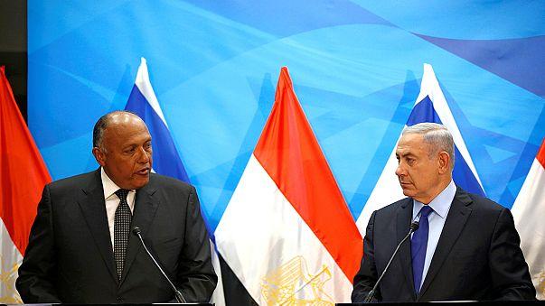 Mısır Dışişleri Bakanı'ndan İsrail'e ziyaret