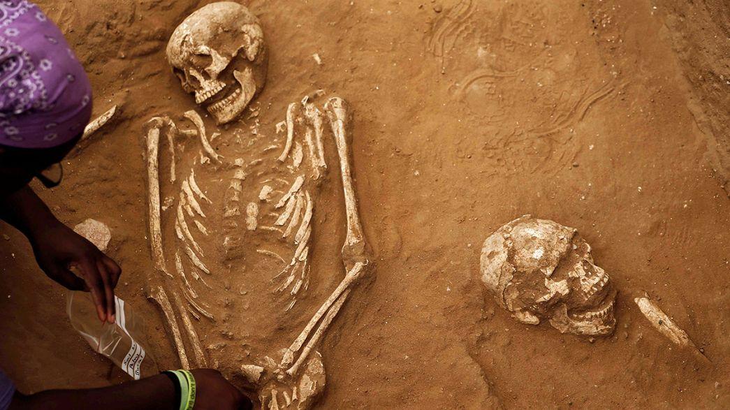 Antik Filistinliler'e ait mezar keşfedildi