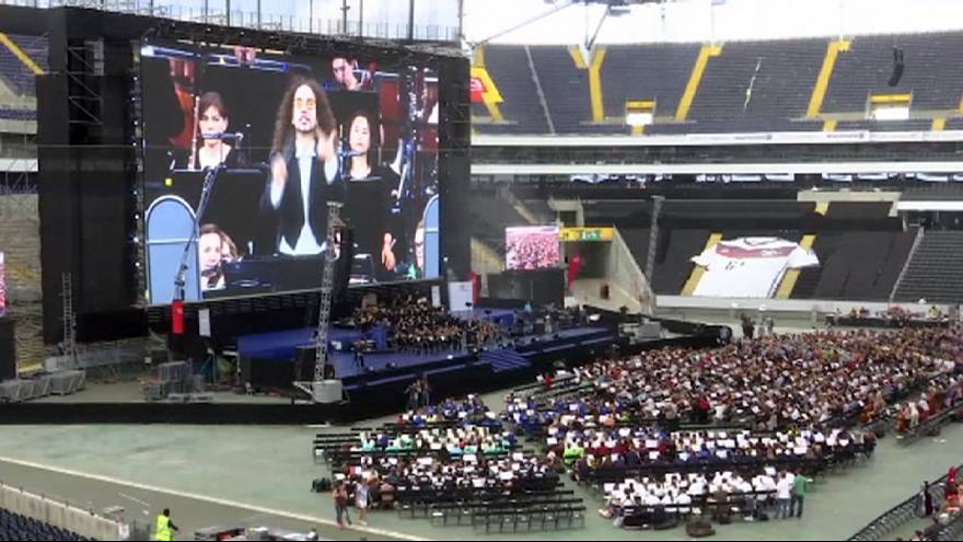 Größtes Orchester der Welt in Frankfurt