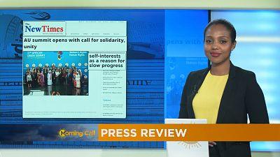 Revoir la revue de presse du 11-07-2016 [ The Morning Call ]