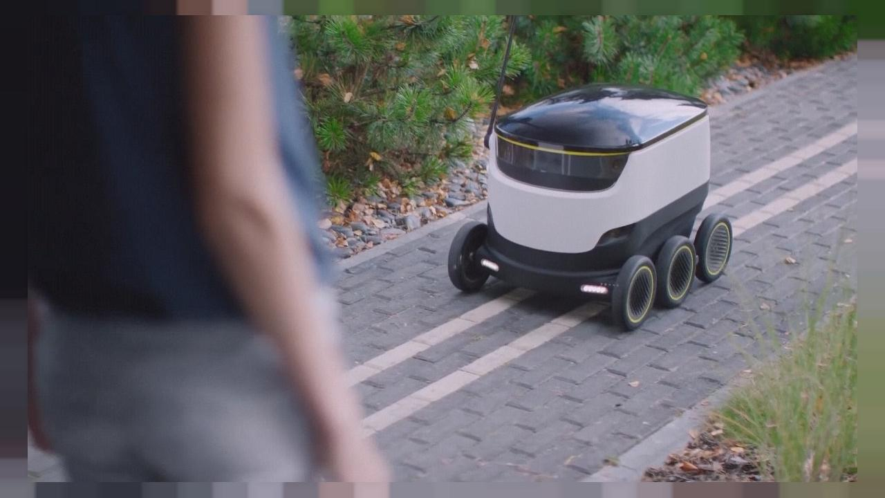 Special delivery: robots coming to your front door!