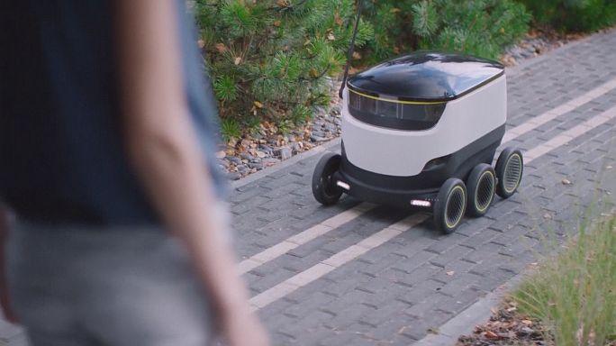 Робот - городской курьер