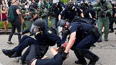 Hundreds arrested as anger boils over police violence in US