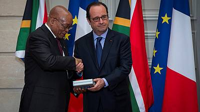 Hollande assures Zuma Brexit will not affect EU relations with S. Africa