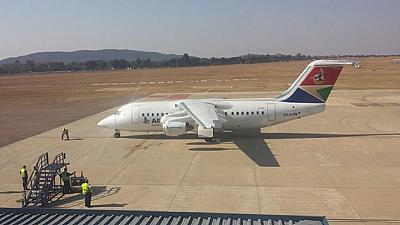 False South African plane hijacking alert causes panic in Pretoria