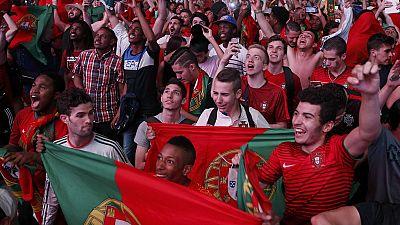 Euro 2016: liesse à Lisbonne