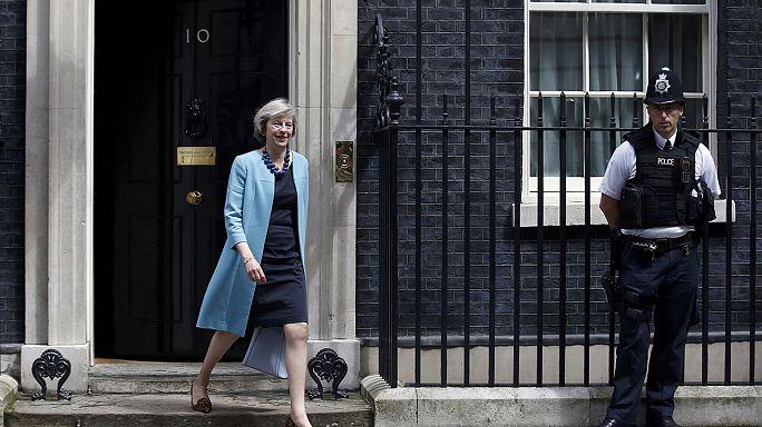 تيريزا ماي رئيسة وزراء بريطانيا إبتداء من يوم الأربعاء