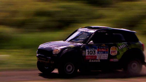 سیریل دپره فاتح سومین مرحله از مسابقات اتومبیلرانی رالی راه ابریشم