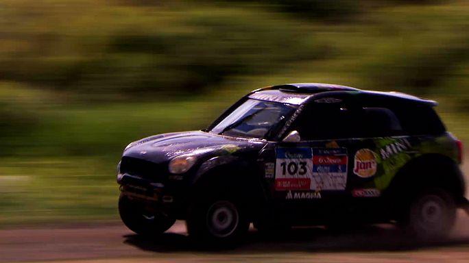 Selyemút rally: a 3. szakaszt Despres nyerte