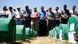 Vingt-un ans après, 127 victimes inhumées à Srebrenica