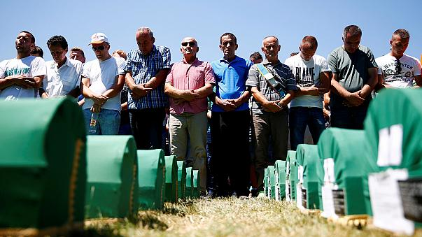 Srebrenica buries 127 newly-found victims on 21st anniversary of massacre