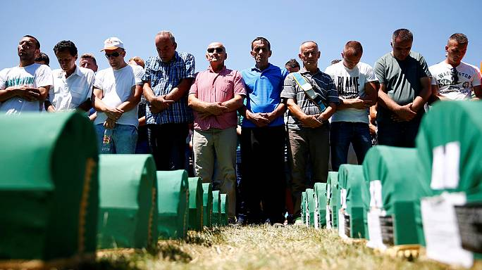 Srebrenica buries 127 newly-found victims on 21st anniversary of massacre